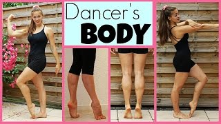 45Min Full Dancer's Body Workout: ARMS/GLUTES/FEET+CALVES