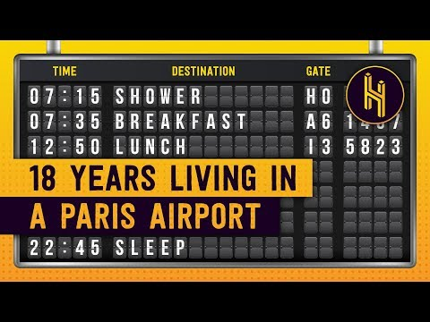 The Man Who Was Stuck in Paris Airport for 18 Years