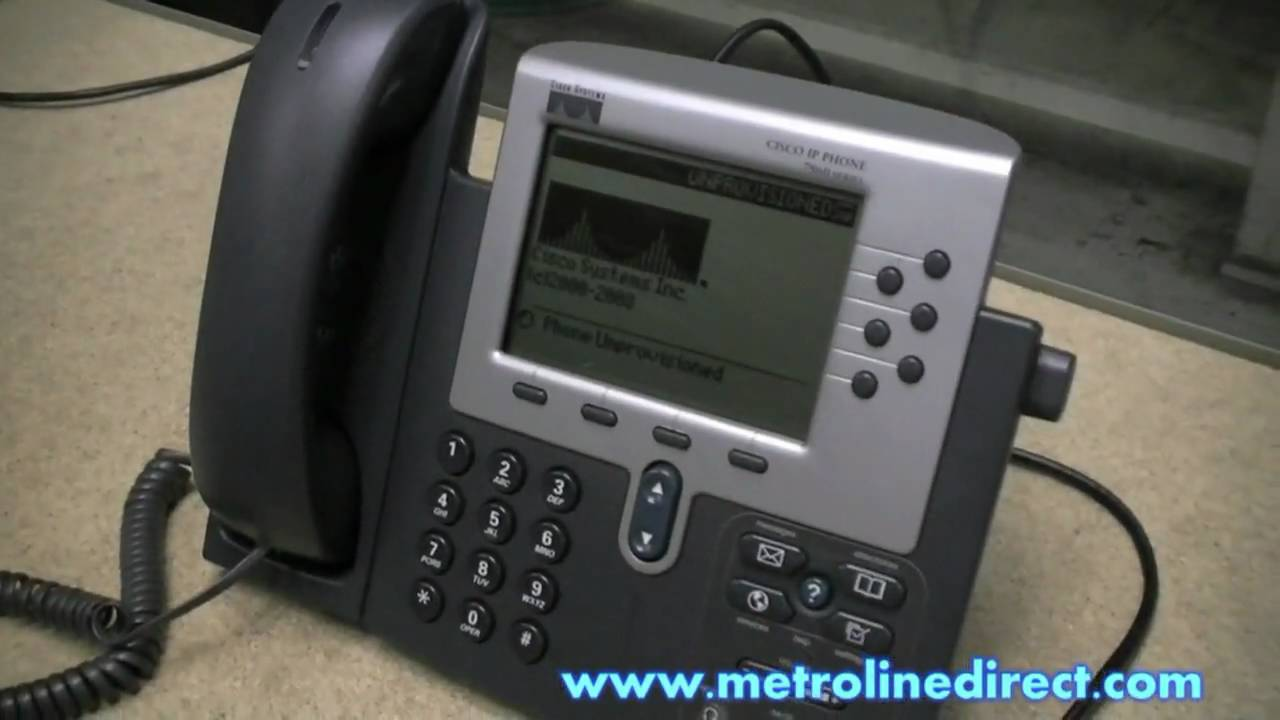 Cisco - How to check for SIP protocol on a Cisco 7960 IP phone