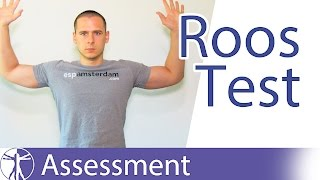Roos Test | Thoracic Outlet Syndrome