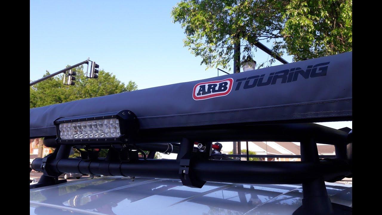 Cheap DIY ARB Awning Mounts (FJ Cruiser Bug Out Vehicle ...