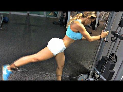Workout Motivation: Bubble Butt Lift Gym Workout
