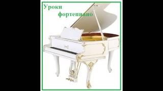 Уроки фортепиано для начинающих. Урок №1