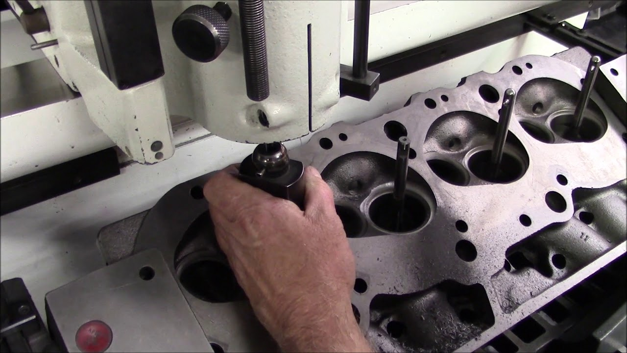 Part 17 - Chamber Cutting and Bowl Hogging - 620 HP 454 Big Block Chevy  Engine Build