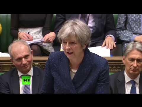 LIVE: Theresa May holds PMQs ahead of Saudi Crown Prince visit