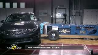 2016 Kia Optima - 5 Star Rating Euroncap Crash Test