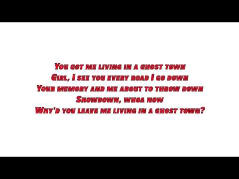 Jake Owen - Ghost Town (Lyrics)