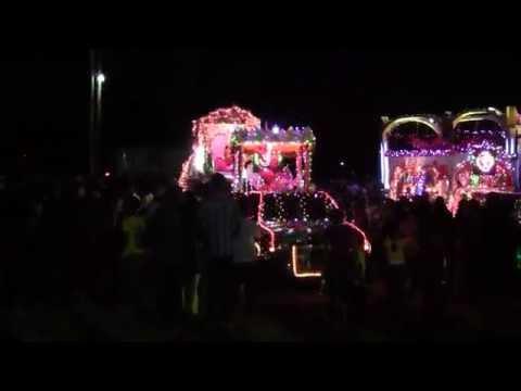 Guyana, Uitvlugt Diwali Motorcade (HD)