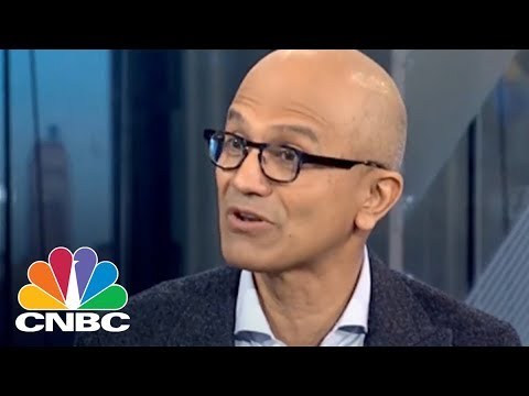 Microsoft CEO Satya Nadella Talks Successful Business Culture And Cutting Edge Innovation | CNBC