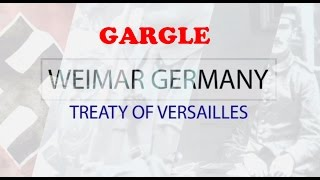 GCSE History The Treaty of Versailles
