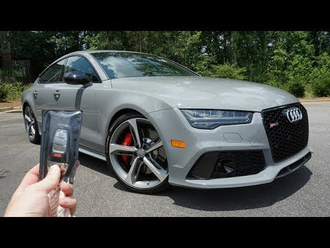 2017 Audi RS7: Start Up, Exhaust, Test Drive and Review