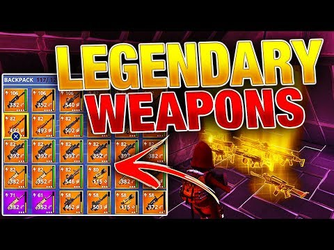 How To Get BEST LEGENDARY Weapons & Heroes! *EASY & FREE*   Fortnite Save the World