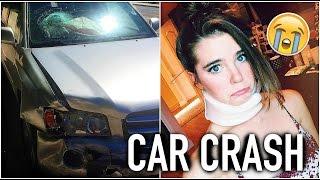 We Got In A CAR CRASH :(