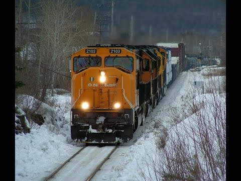 Ontario Northland train 214 March 11th 2014