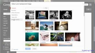 كيفية تعيين صورة خلفية مخصصة في Gmail