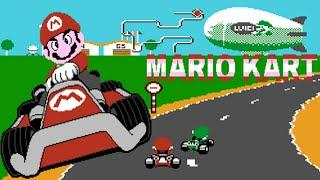 MARIO KART (Nice Code Software) (Unl) (NES Pirate) - NES LONGPLAY - (NO DEATH RUN) (FULL GAMEPLAY)