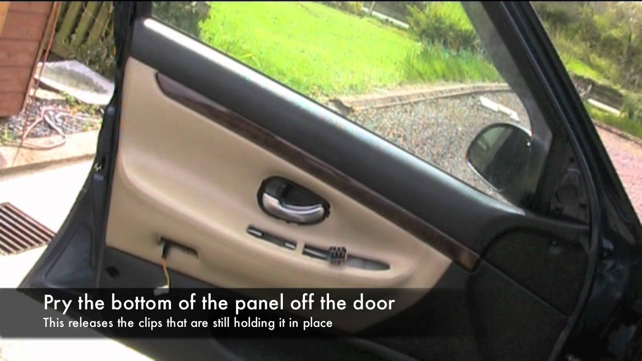 406 Doorcard Removal Youtube
