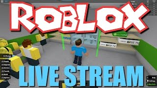 Roblox Live Stream! 12/4/2016 (Phantom Forces, Pizza Place, Meep City, Disaster Survival)