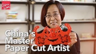 China's Master Paper Cut Artist | A China Icons Video