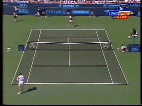 ATP Indian Wells 96 Haarhuis vs Ivanisevic SF