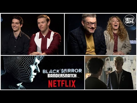 Black Mirror: Bandersnatch - Fionn Whitehead, Will Poulter & Charlie Brooker reveal the secrets Mp3