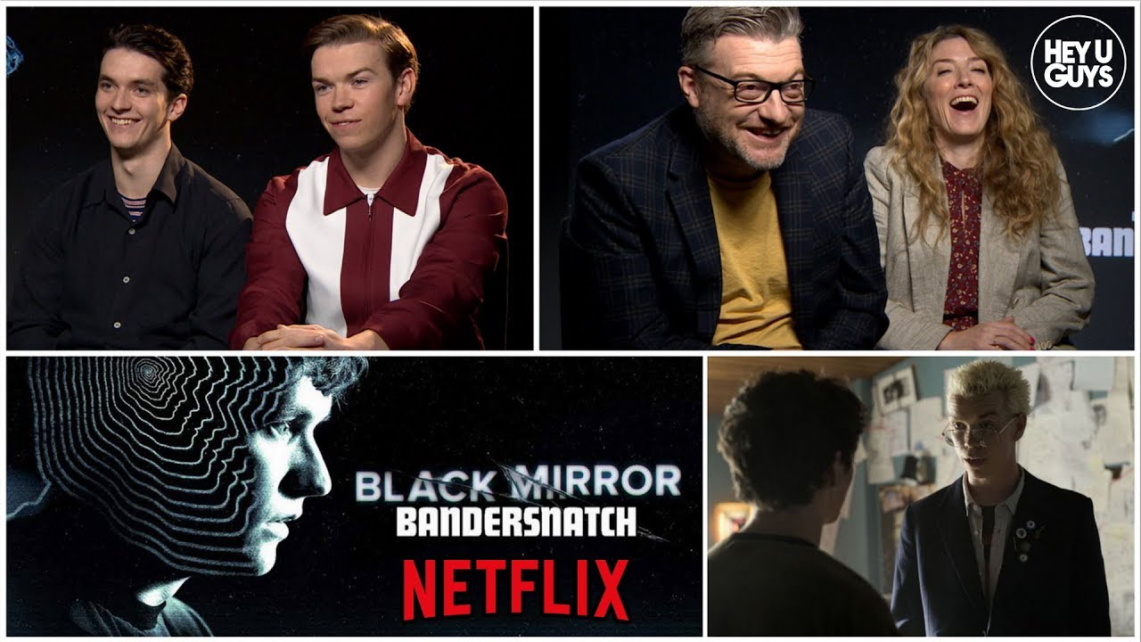 Black Mirror: Bandersnatch - Fionn Whitehead, Will Poulter & Charlie Brooker reveal the secrets image