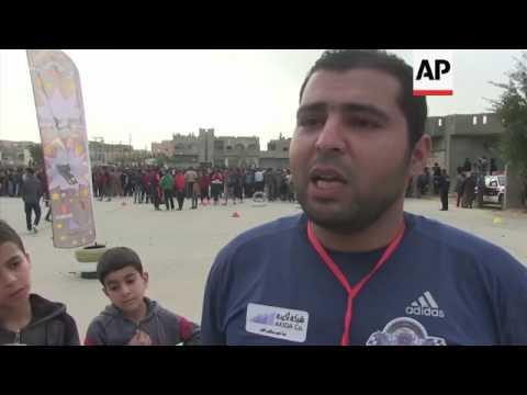Racers from across Libya compete in motor sport festival