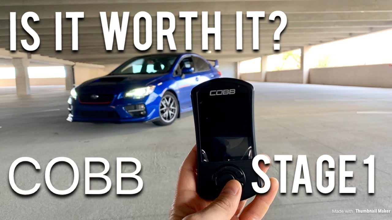 2015-17 WRX COBB Stage 1 Tune Initial Review!