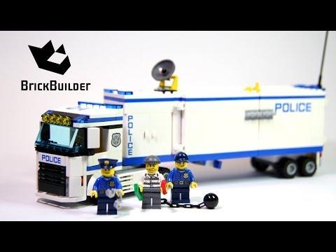 Lego City 60044 Mobile Police Unit Lego Speed Build Youtube