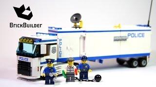 Kijk Lego City 60044 Mobiele Politie Eenheid filmpje