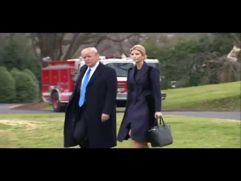 ULTIMATE SACRIFICE: President Trump and Ivanka Trump Visit Fallen Navy Seal