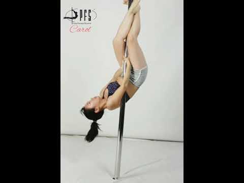 Beginner Pole Student - Carol - Pole Fitness Studios