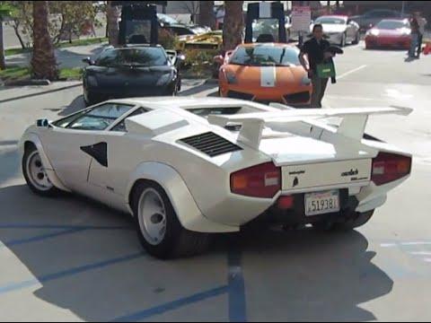 Lamborghini Countach 5000 Quattrovalvole Youtube