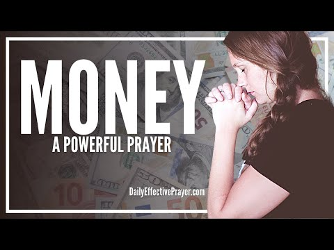 Prayer For Money - Powerful Prayers For Money