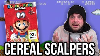 REACTING to Super Mario Cereal SCALPERS!   RGT 85