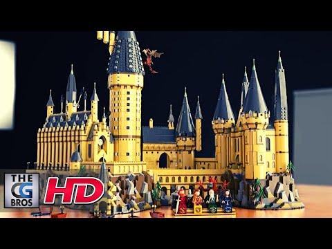 "CGI 3D Animated Trailers: ""Building Lego Hogwarts Castle"" - by Federico Ventura | TheCGBros"