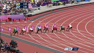 江里口匡史 ロンドンオリンピック 100m