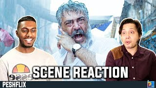 Viswasam Interval Rain Fight Scene Reaction | Ajith Kumar | PESHFlix