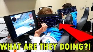 THINGS PROS DO IN PRACTICE ROOMS (E-League S2 Vlog)