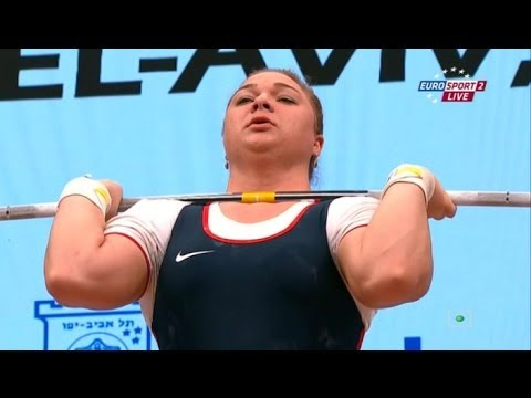 2014 European Weightlifting Championships Women's +75 kg Cle