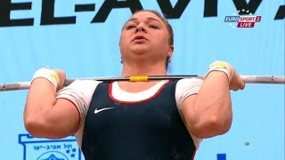2014 European Weightlifting Championships Women