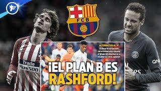 Le plan B du Barça en cas d'échec des dossiers Griezmann et Neymar | Revue de presse
