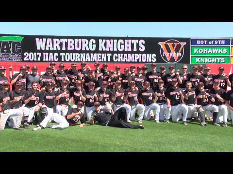 Wartburg Baseball vs. Coe IIAC Tournament (May 13, 2017)