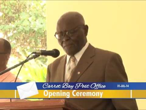 Carrot Bay Post Office Opening Ceremony