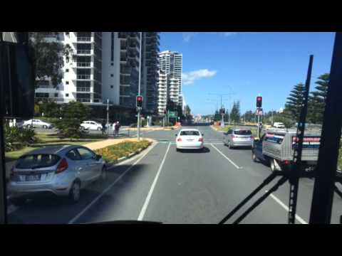 Gold Coast Australia street video 1 to scu university