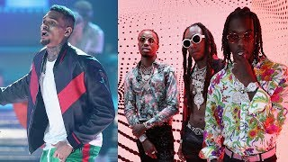 Chris Brown & Migos Involved In Brawl After BET Awards