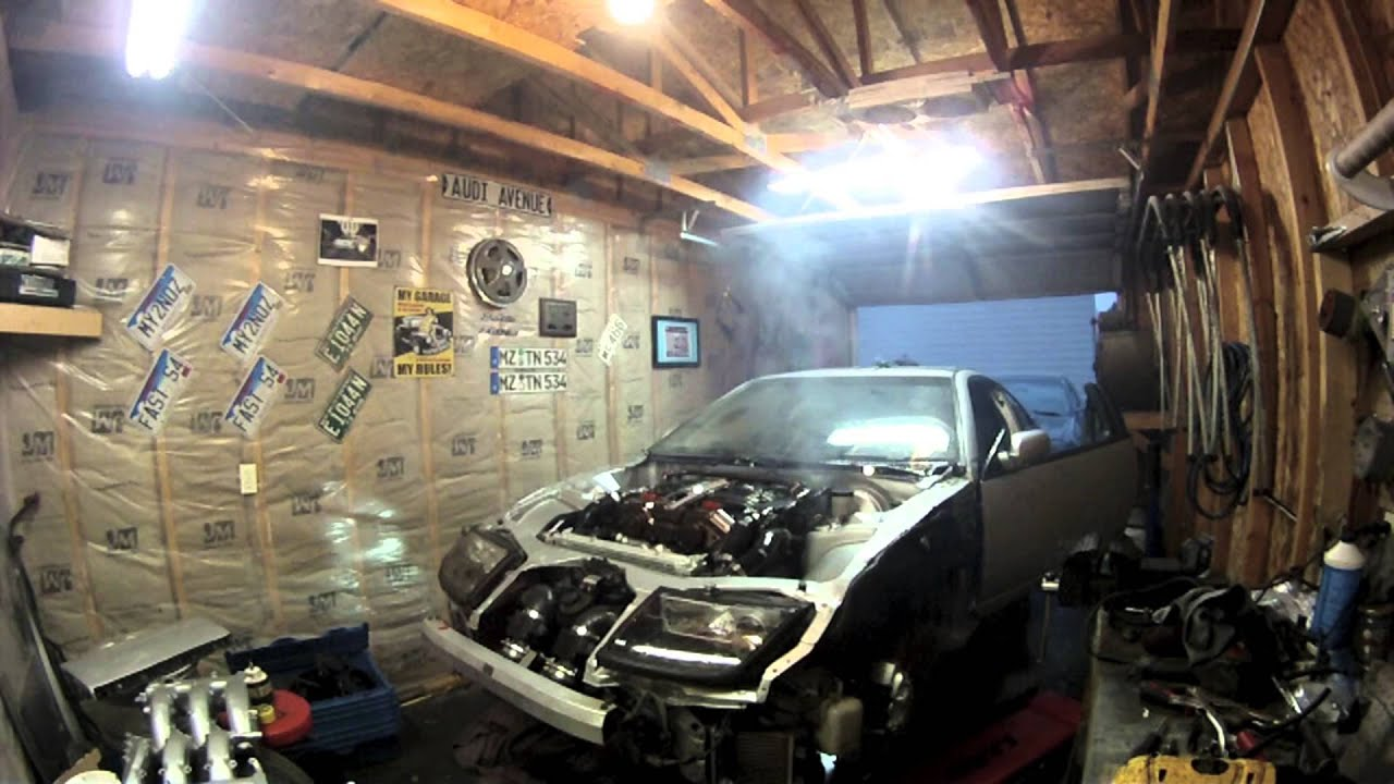maxresdefault 300zx shaved engine bay tuck and twin turbo first start up youtube 300ZX Lamborghini Body Kit at webbmarketing.co