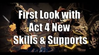 Act 4 Skill Spoilers and Predictions!