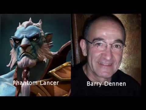 Dota 2 Heroes and Voice Actors 2014