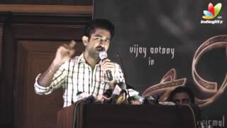 Vijay Antony's Salim Success Meet   Aksha Pardasany, N. V. Nirmal Kumar